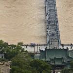 Most Zhongshan na rzece Huanghe w Lanzhou / Lanzhou, Zhongshan bridge over Huanghe River