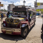 Toril, Mindanao - jeepney, the most iconic vehicle of the Philippines