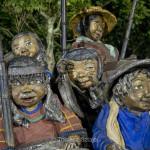 Davao City, Mindanao - sculptures in People's Park