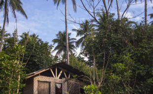Camiguin - a typical nipa hut