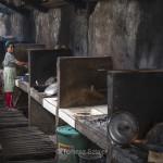 Baclayon, Bohol - backside of a restaurant