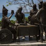 Tagbilaran, Bohol - blood compact monument
