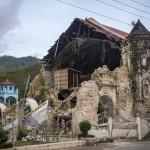 Loboc, Bohol - church devastated by earthquake