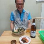 The joyful Mr Kim from Yeongdeok