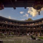 Tulou courtyard