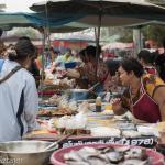 Street market in Sukhotai