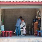 Barber shop, Luang Prabang